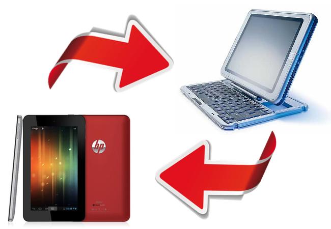 HP Tablets historia