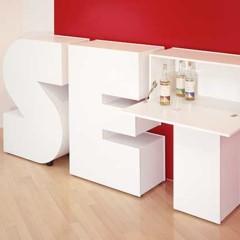 Foto 12 de 12 de la galería alphabet-furniture-decorar-con-palabras en Decoesfera