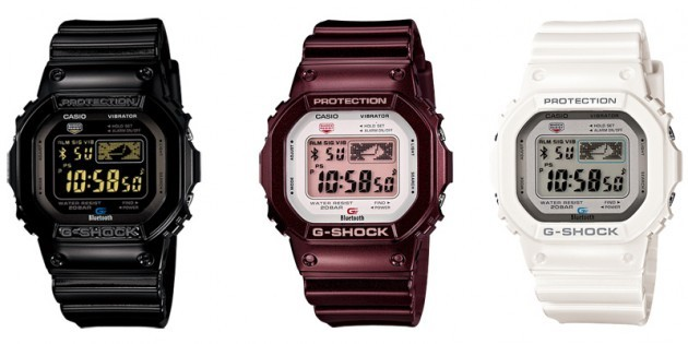 G-shock compatibles con Bluetooth 4.0