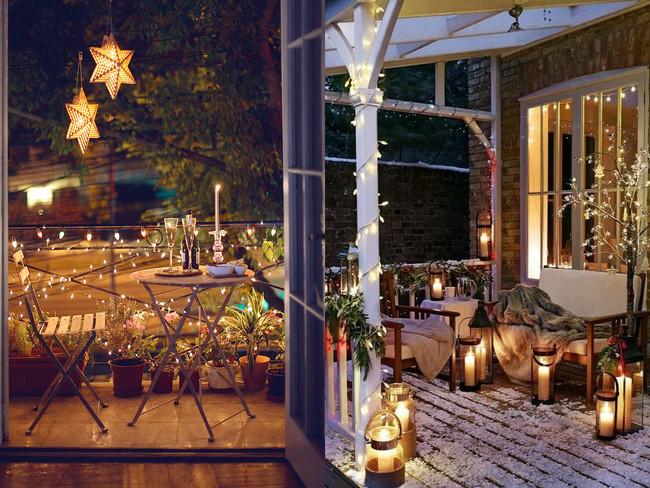 Balcones Decoracion Navidad