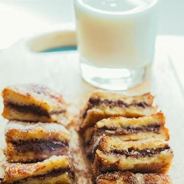 Pan francés de chocolate. Receta de desayuno o postre