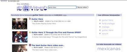 Isinvideo, otro rápido buscador de vídeos en Internet