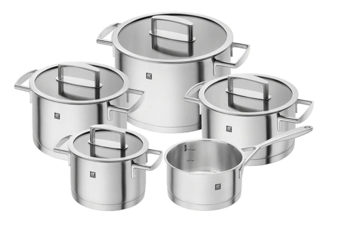 Batería de cocina de 5 piezas Vitality Zwilling J.A. Henckels
