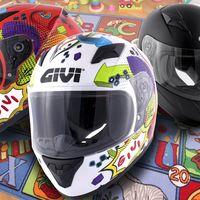 ¿Vuelta al cole? Sí, pero en moto con el casco infantil Givi Junior 4