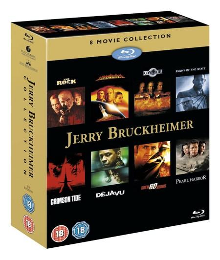 Jerry Bruckheimer Action Collection, en Blu-ray, por 22,45 euros y envío gratis