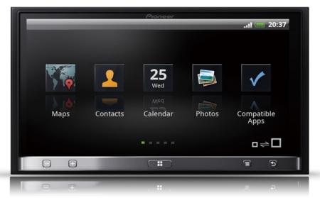 Pioneer AppRadio de segunda generación para iOS y Android
