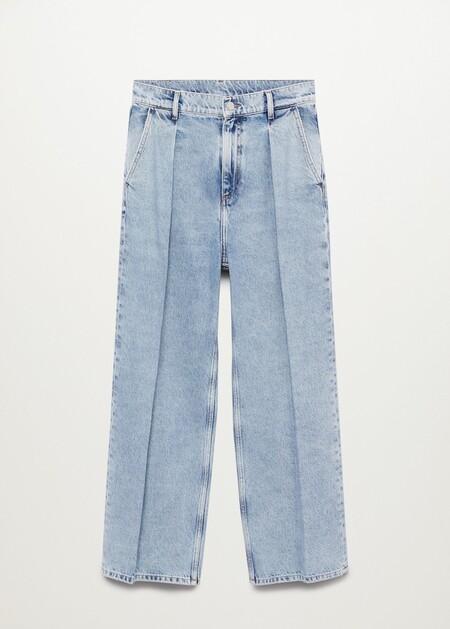 Jeans tiro alto Wideleg