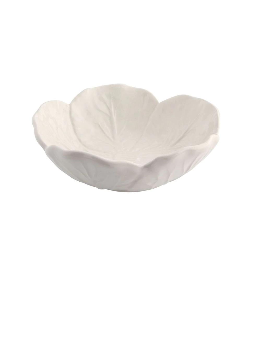 Bowl con forma de hoja Beige Couve Bordallo Pinheiro