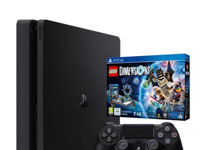 Consola PS4 Slim de 1 TB + Lego Dimensions Starter Pack por 299,90 euros