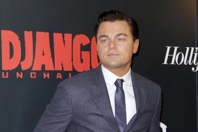 Leonardo DiCaprio en el preestreno de Django Desencadenado