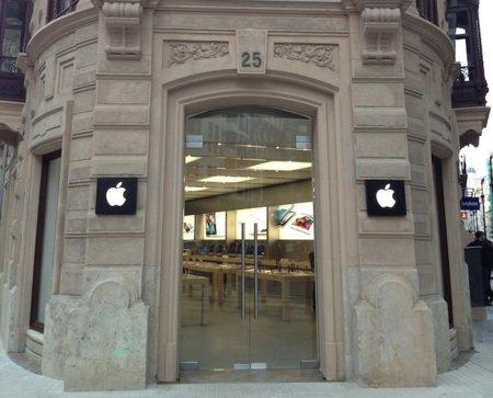 Así es la nueva Apple Store Calle Colón en Valencia