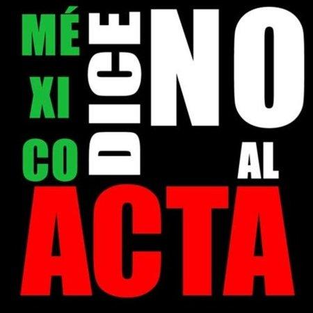 México dice No al ACTA