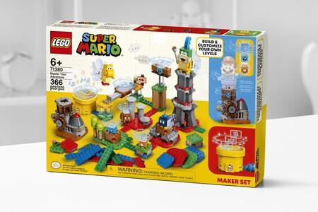 Construye tu mundo de Super Mario con LEGO