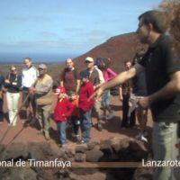 Visita al cálido Parque Nacional de Timanfaya (vídeo)