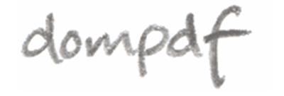 Dompdf, un conversor de HTML a PDF para PHP5