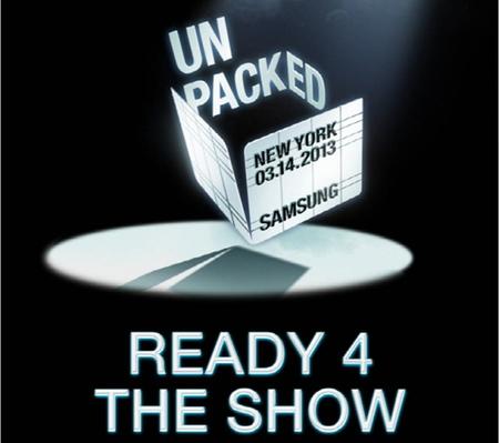 [ACTUALIZADA] Es oficial, el Samsung Galaxy SIV llegará el 14 de marzo