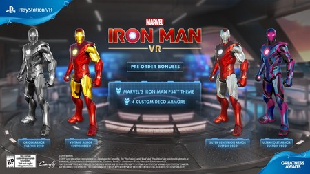 Iron Man VR Reserva
