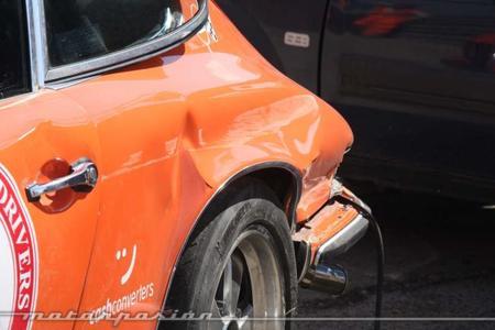 Dolorpasión™: Porsche vs guardarraíl en el Jarama Vintage Festival