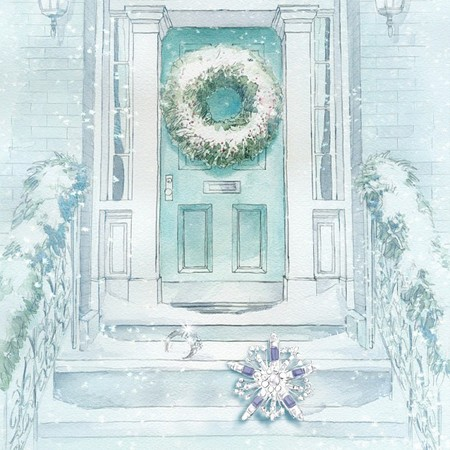 Tiffany & Co. viste sus escaparates de sueño por Navidad