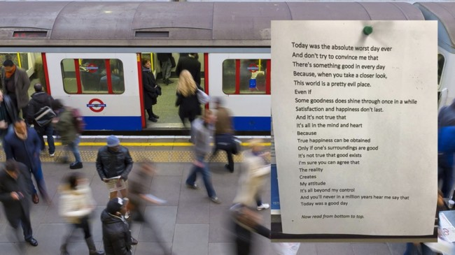 Poem Posted In London