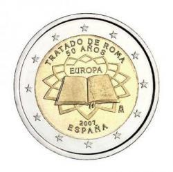 Moneda conmemorativa Tratado de Roma