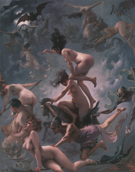Brujas yendo al sabath, Luis Ricardo Falero