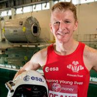 El astronauta británico que correrá la Maratón de Londres desde el espacio