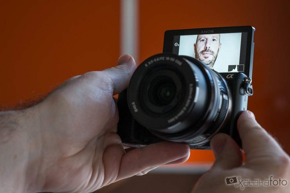 Sony A5000 pantalla