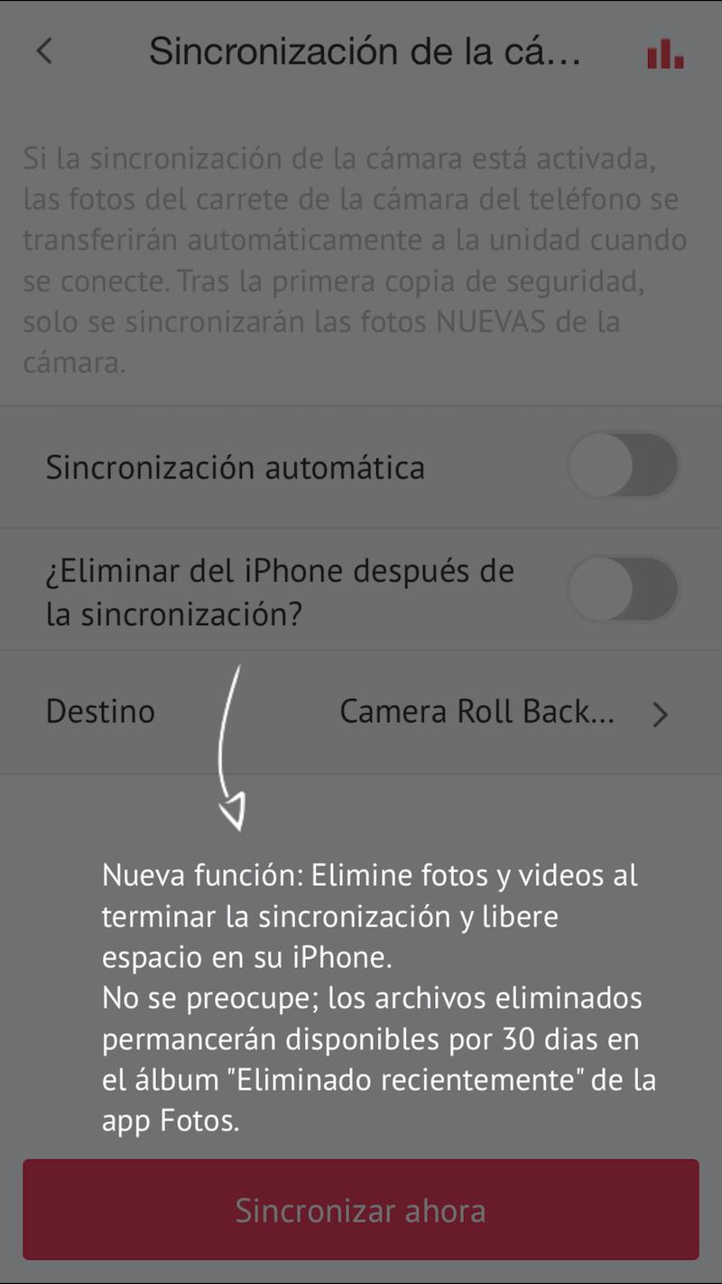 Foto de Así es la aplicación de SanDisk iXpand (20/21)