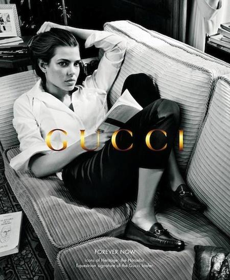 Carlota Casiraghi y Gucci: su segunda campaña ya está aquí