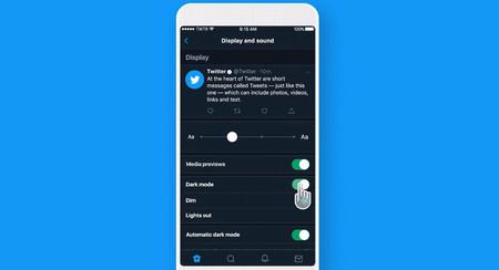 Twitter añade el modo súper oscuro: así lo puedes activar