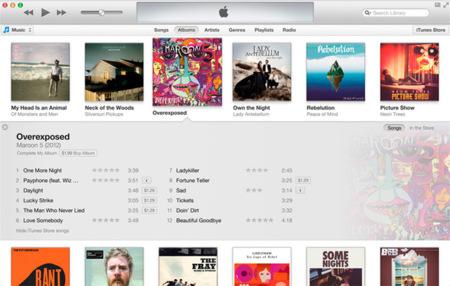 Apple también rediseña iTunes, que llegará en octubre con un nuevo look e integración con iCloud