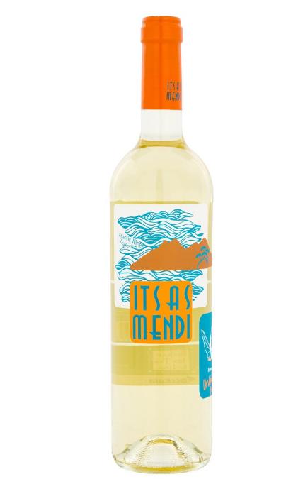 Vino blanco Txacolí Itsasmendi