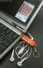 Teléfono de VoiP en lápiz USB