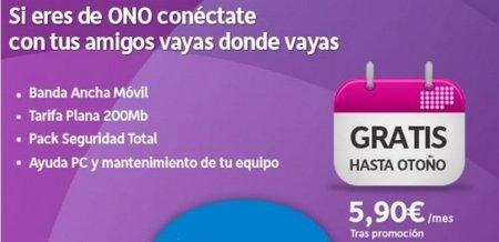 Internet móvil también gratis en verano con ONO móvil