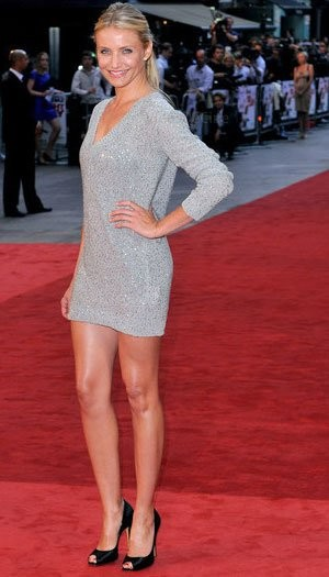 Los looks de Cameron Diaz en las premieres de Knight and Day