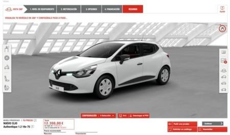 Configurador Renault 3D