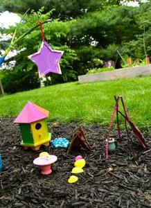 Manualidades con niños: construir casitas de hadas