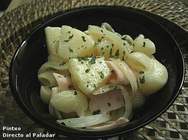 Receta de pasta hawaina