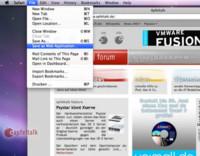 Primeras imágenes de Snow Leopard: Las aplicaciones web llegan al escritorio