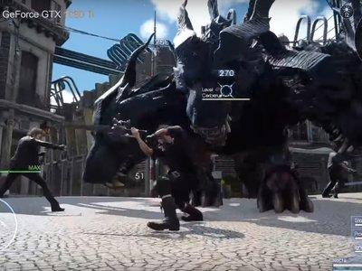 Ver  Final Fantasy XV moviéndose en una GTX 1080ti ya es una realidad... aunque se trate de una  demo técnica