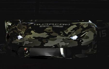 Lamborghini revela la primera foto de su Huracán LP 610-4 Super Trofeo