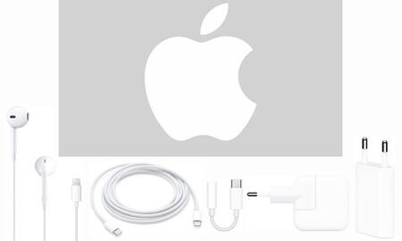 ¿Tu nuevo iPhone 12 no trae adaptador de corriente o auriculares? Amazon te hace un 10% de descuento en el segundo accesorio de esta selección de cables, adaptadores y auriculares Apple