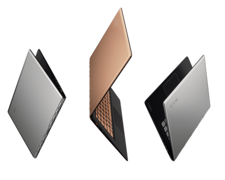 Yoga 900s In Gold Silver Product Family Copia
