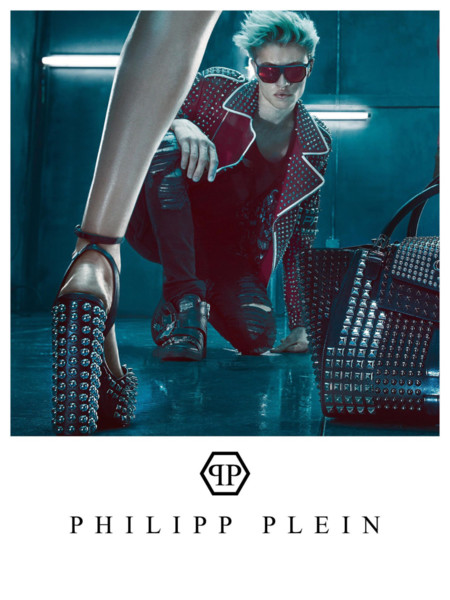 Lucky Blue Smith Philipp Plein Spring Summer 2016 Campaign 001