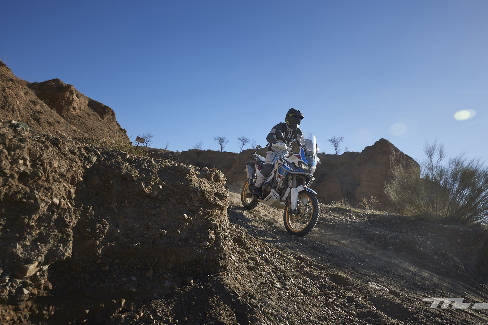 Foto de Honda CRF1000L Africa Twin Adventure Sports 2018, prueba (7/40)