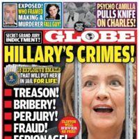 Hillary a la cárcel. Sí. Ya.