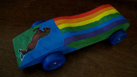 Asocia cada color del arcoíris con un coche. La pregunta de la semana