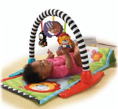 Los 10 juguetes más queridos: gimnasio-mantita, el espacio de los estímulos