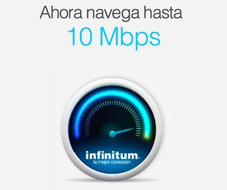 Telmex (¡por fin!) aumenta la velocidad de su servicio de internet hasta los 10Mbps